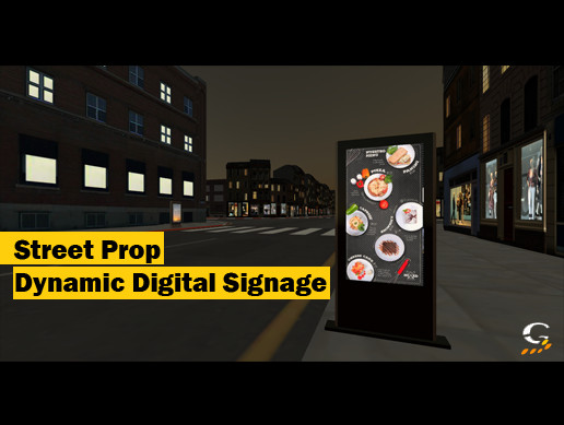 Street Prop Dynamic Digital Signage