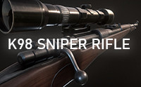 K98 WWII Sniper Rifle (Mobile)
