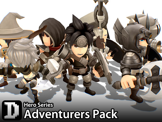 Hero Series - Adventurers Pack