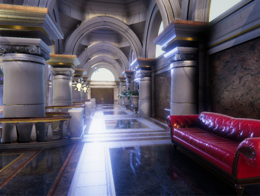 Casino and Hotel Interior