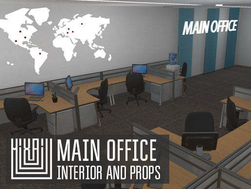 Main office - interior and props