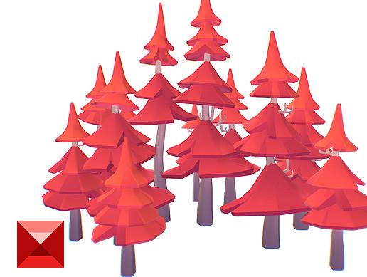 Pine Tree Set - Proto Series