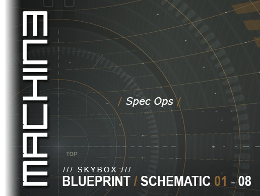 Blueprint / Schematic - Skybox 01 - 08 Spec Ops