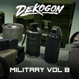 Military Supplies - VOL.8 - Field Supplies