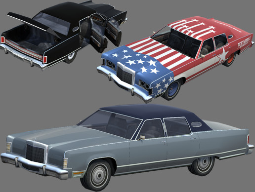 UAA - City Vehicles - Kallias Sedan