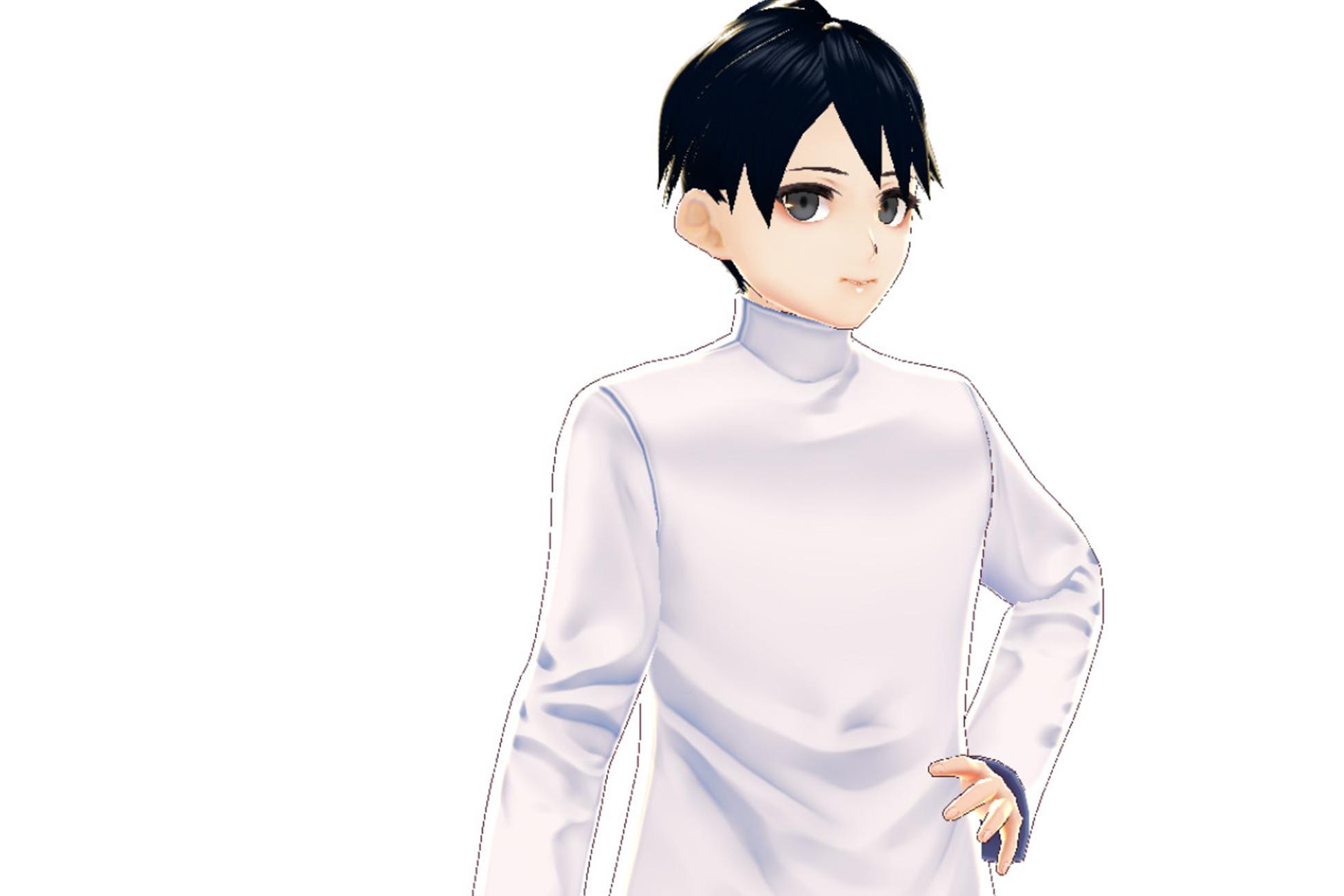 Anime Character : Yong (Moon Light + Uniform)