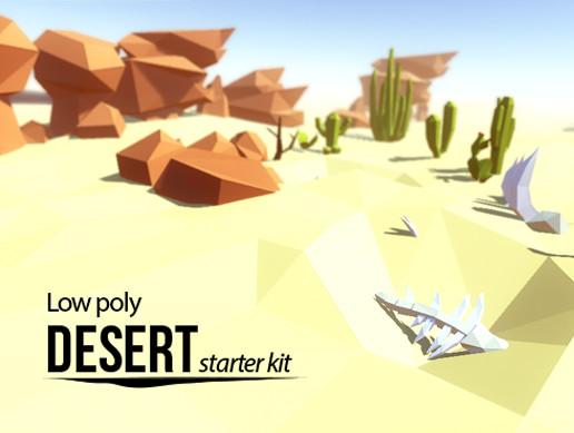 Lowpoly Desert - Starter Kit v1.0