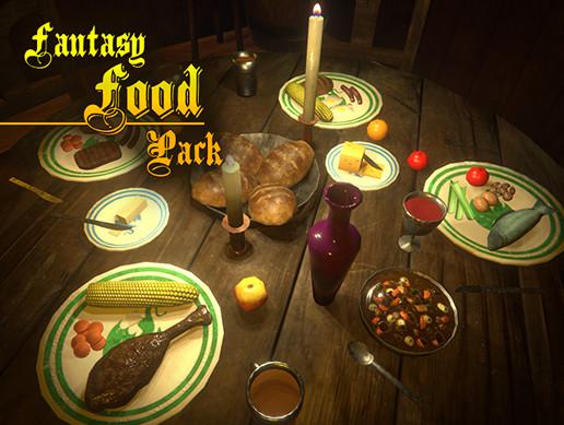 Fantasy Food Pack