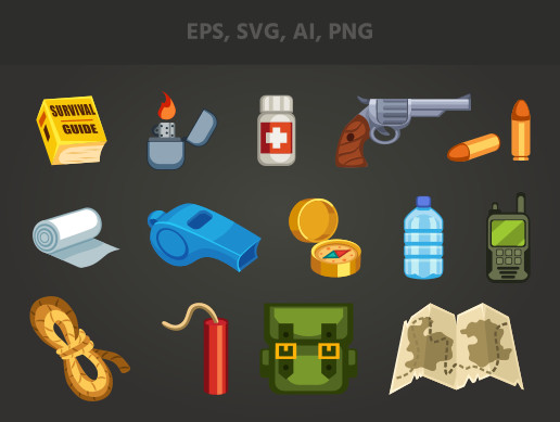 Survival Game Items