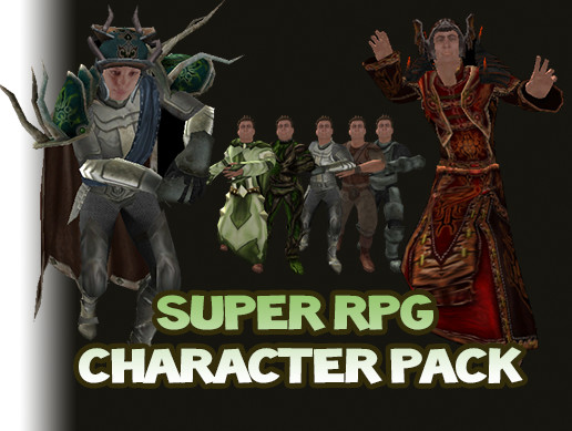 Super RPG Character Pack - Asset Store