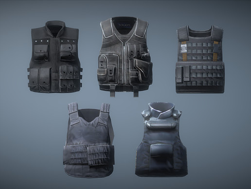 Police Armor Pack