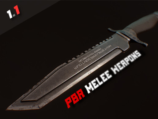PBR Melee Weapons Pack