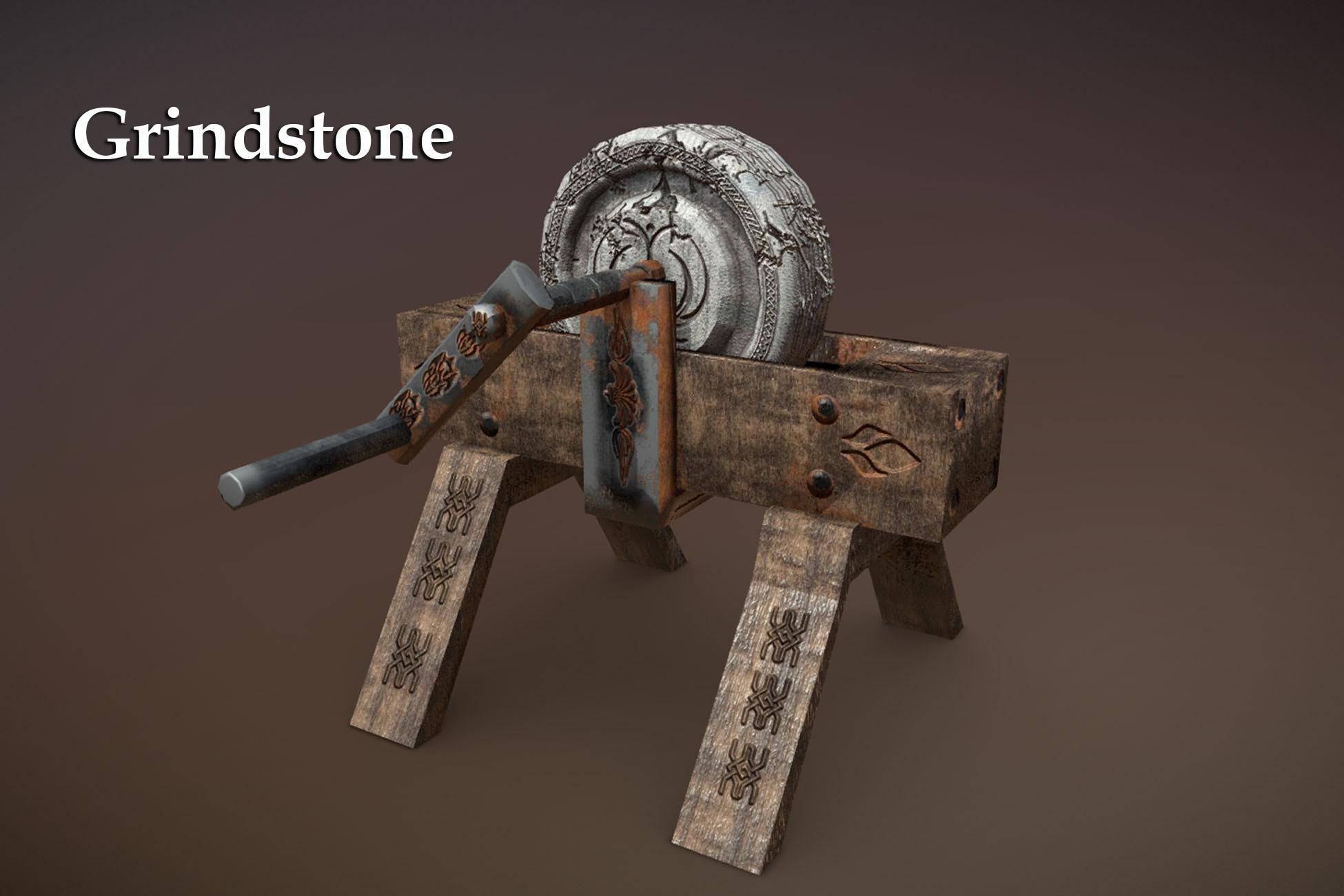Grindstone by DEXSOFT-Games, 3DModels-textures