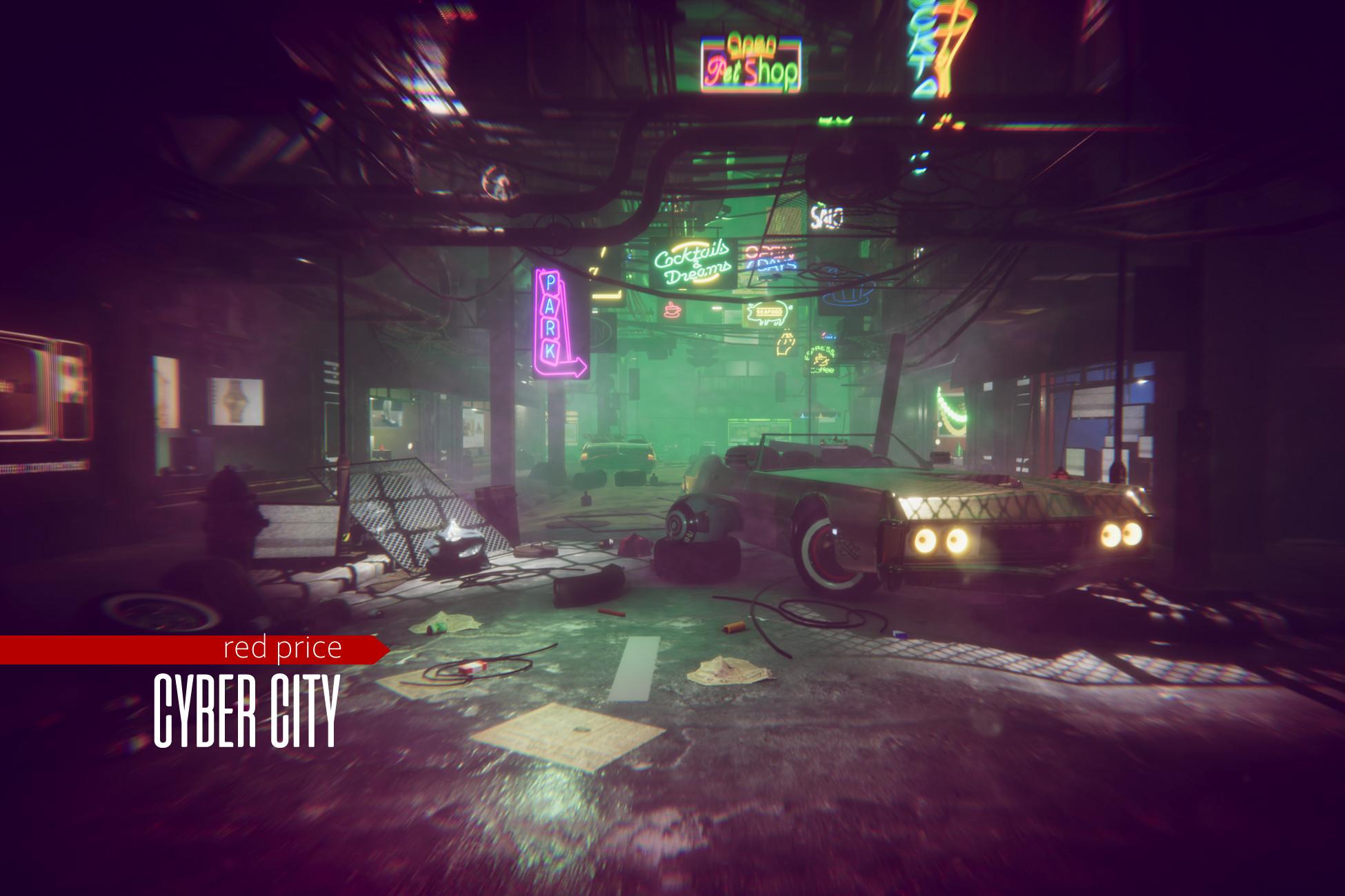cyberpunk - Cyber City