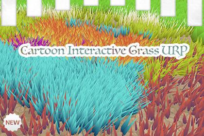 Cartoon Interactive Grass URP