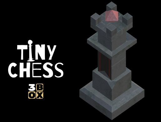 Tiny Chess - Stone Chess Piece