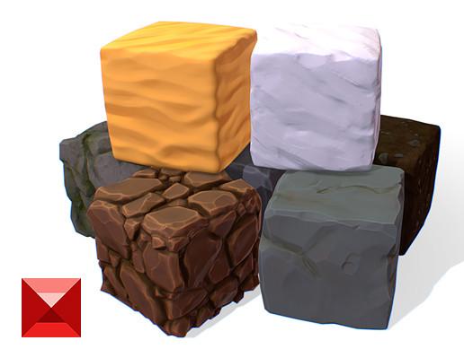 Cube Bundle - PBR Handpainted Series