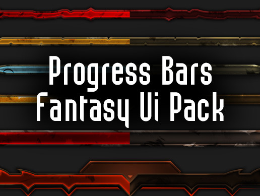 Progress Bars - Fantasy Ui Pack