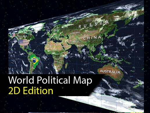 World Map 2D Edition
