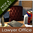 The Sleazy Lawyer Office and Modular Build Kit