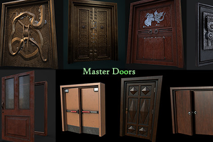 Master Doors (With animations and SFX)