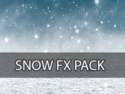 Snow Fx Pack - Weather VFX