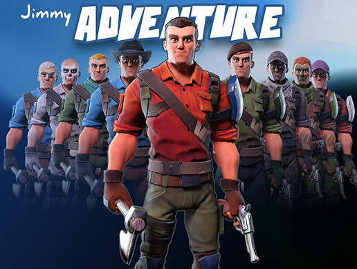 Jimmy adventure - Stylized character