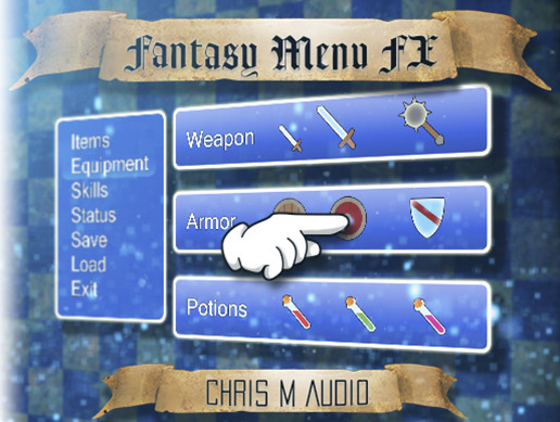 Fantasy Menu SFX