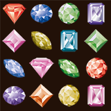 2D Diamond Jewel Gem Pack