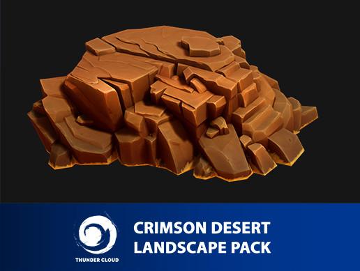 Crimson Desert Landscape Hill pack