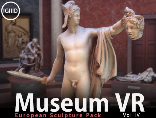 Museum VR Asset Pack Vol. IV