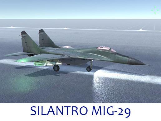 Silantro MiG-29 Fulcrum