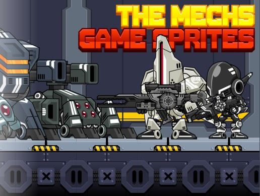 The Mechs - Game Sprites