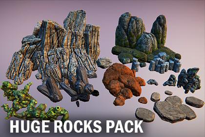 Huge rocks pack
