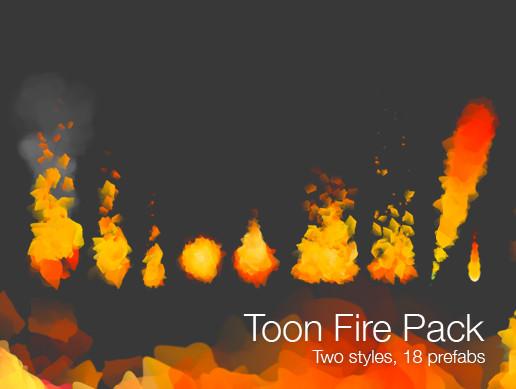 Toon Fire VFX - Asset Store
