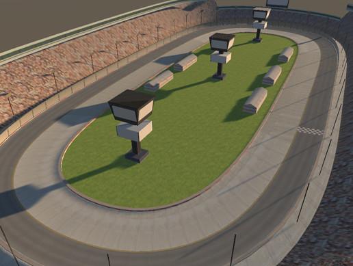 Car Race Track Lap Map Ring Circle Racetrack