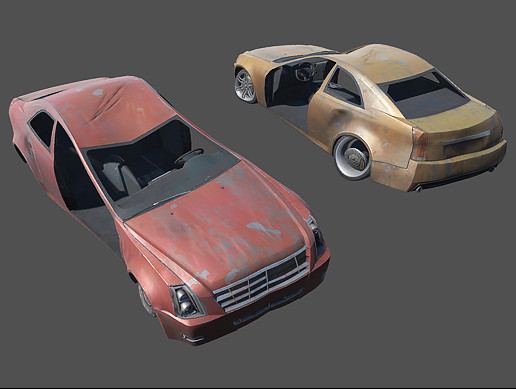 Damaged Car Pack