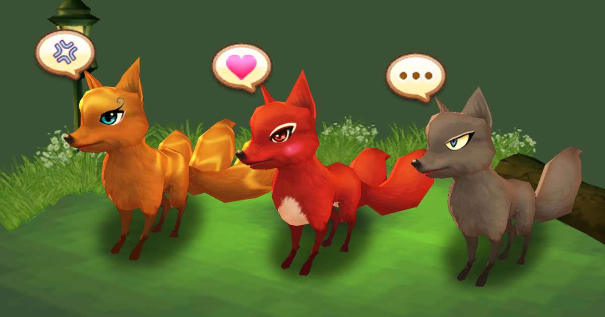 Cute Animal Pet (Fox)