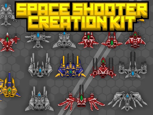 Space Shooter Sprite Kit 1