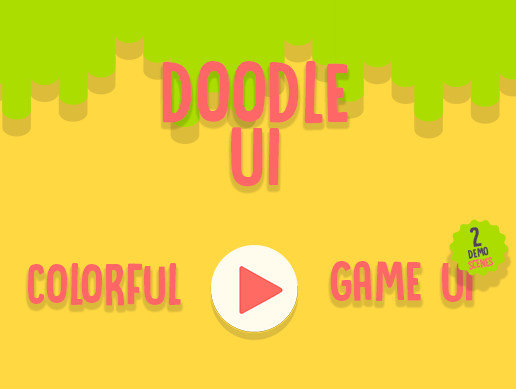 Colorful DoodleUI Game UI Kit - Asset Store