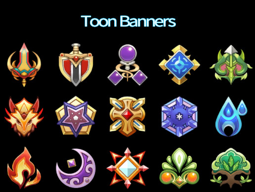 Toon Banners