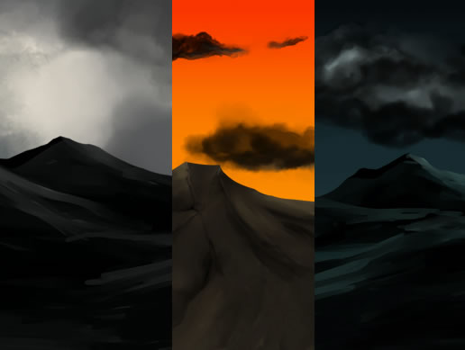 FREE 2D Hand Painted-Background