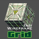 Easy Wireframe Grid - wireframe grid shader effect