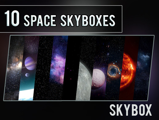 10 Space Skyboxes