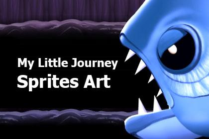 My Little Journey Sprites Art