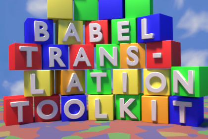 Babel Translation Toolkit
