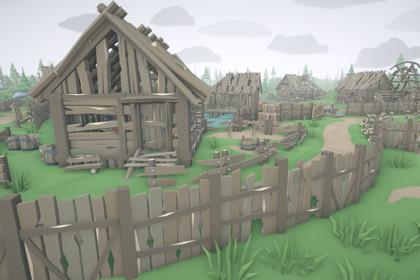RPG Poly Pack - Abandoned Village