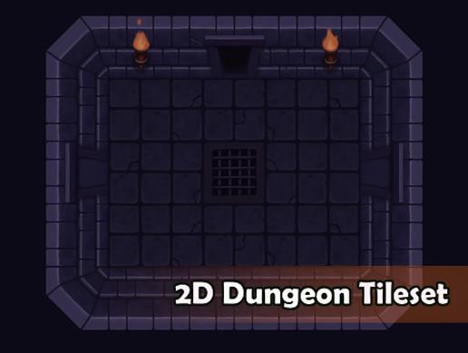 2D Dungeon Tileset - Asset Store