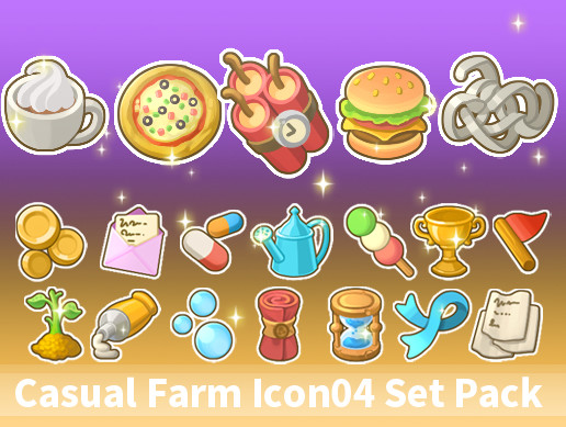 Casual Farm Icon04 Set Pack