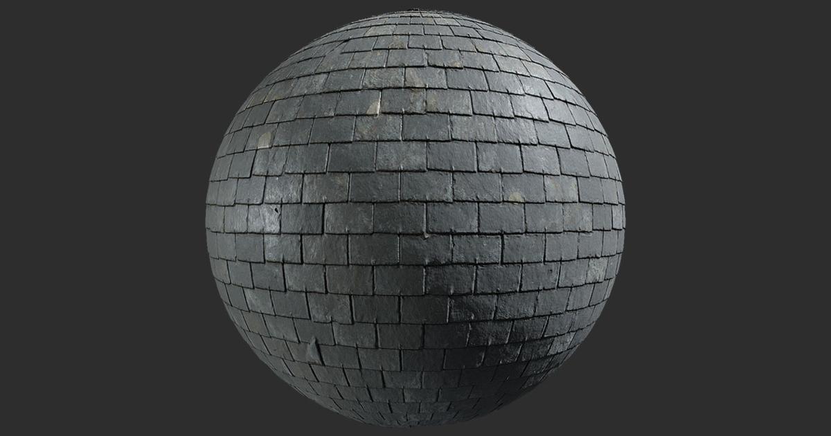 Roof Textures - 4K